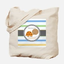 Cute Turtle Personalized Tote Bag