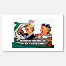 Retirement Adventure Decal