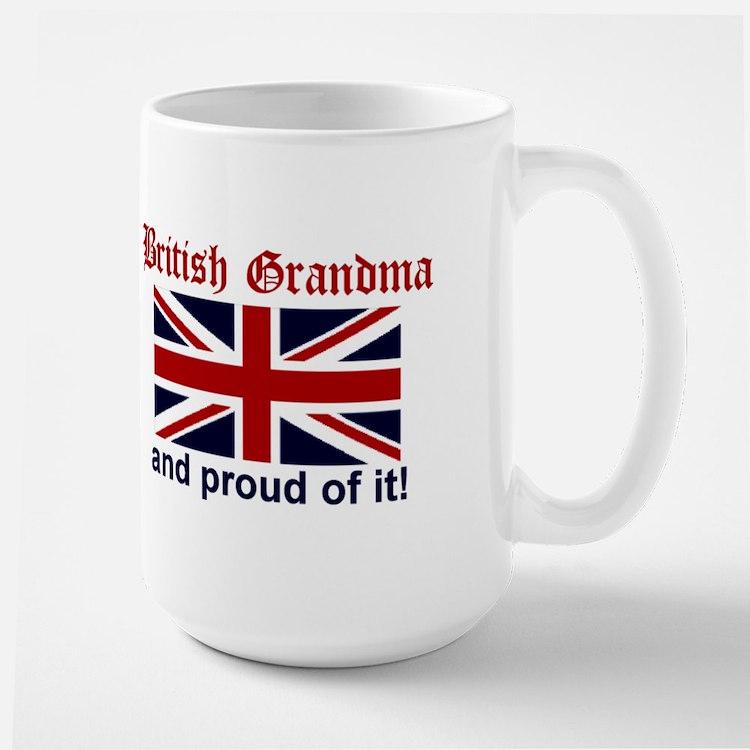 Proud British Grandma Mugs
