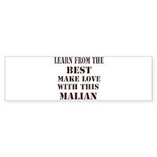 Learn best from Malian Bumper Bumper Sticker