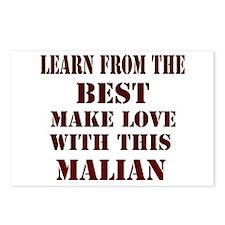 Learn best from Malian Postcards (Package of 8)