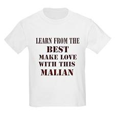 Learn best from Malian T-Shirt