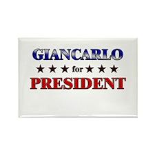 GIANCARLO for president Rectangle Magnet