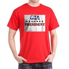 GIA for president T-Shirt