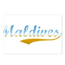 Beach Maldives Postcards (Package of 8)