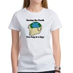 Saving the Earth Women's T-Shirt