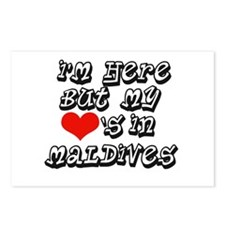 Heart in Maldives Postcards (Package of 8)