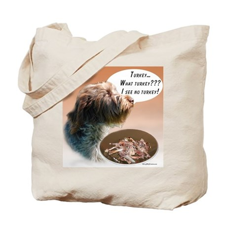 Griffon Turkey Tote Bag