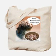 Griffon Turkey Tote Bag