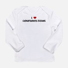 I Love Caenorhabditis Elegans Long Sleeve T-Shirt