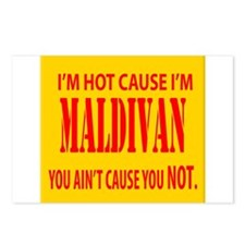 Hot Maldives Postcards (Package of 8)