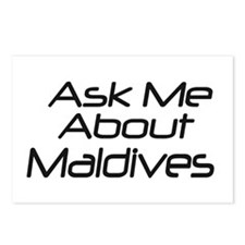 Ask me about Maldives Postcards (Package of 8)