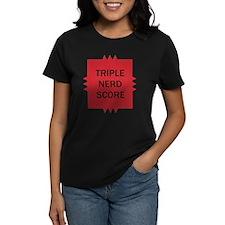 Triple Nerd Score Tee