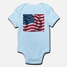 USA Flag Body Suit