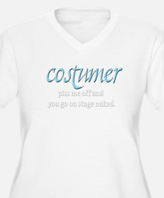Costumer Plus Size T-Shirt