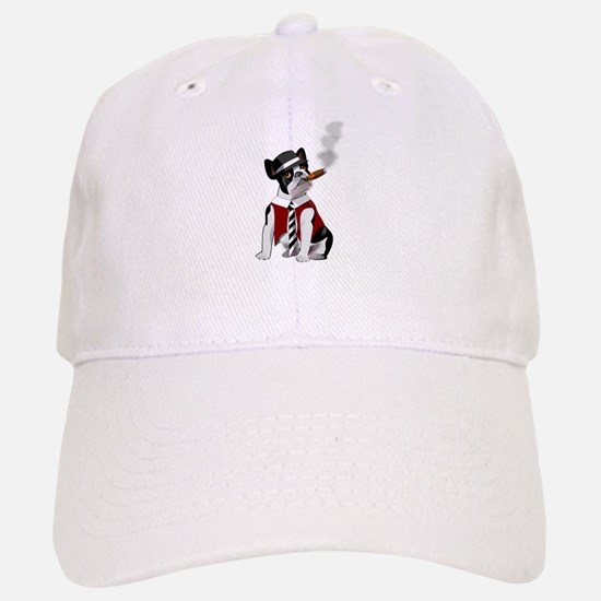 Smoking French bulldog Hat