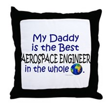 Best Aerospace Engineer In The World (Daddy) Throw