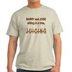 Juicing Ash Grey T-Shirt