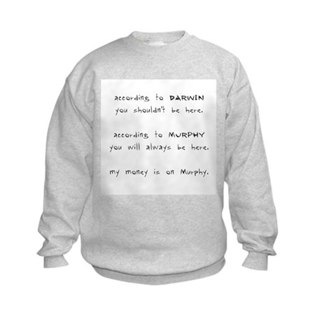 Murphy vs. Darwin Kids Sweatshirt