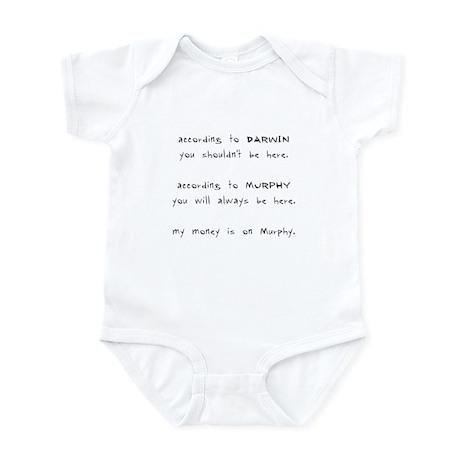 Murphy vs. Darwin Infant Bodysuit