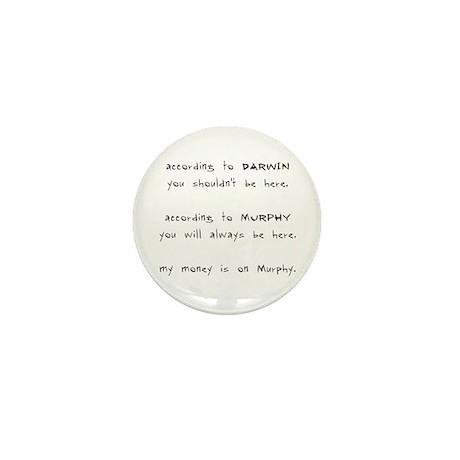 Murphy vs. Darwin Mini Button (10 pack)