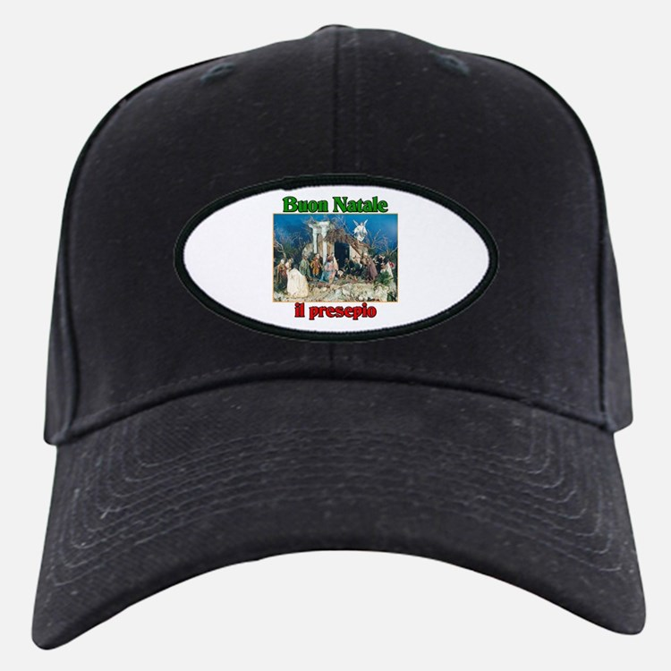 Buon Natale (Merry Christmas) Il Presepio Baseball Hat