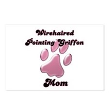 Griffon Mom3 Postcards (Package of 8)