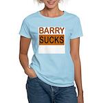 Barry Sucks Logo Women's Pink T-Shirt