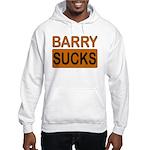 Barry Sucks Logo Hooded Sweatshirt