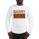 Barry Sucks Logo Long Sleeve T-Shirt