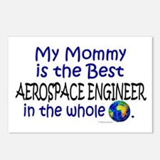Best Aerospace Engineer In The World (Mommy) Postc