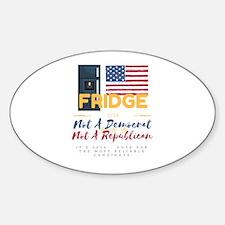 White Background Fridge 2016 Decal