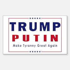 Trump Putin 2016 Decal