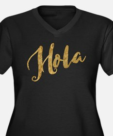 Golden Look Hola Plus Size T-Shirt