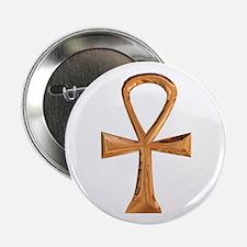 Egyptian Ankh Button