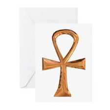 Egyptian Ankh Greeting Cards (Pk of 10)