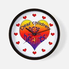Deaf Children Hear... Wall Clock