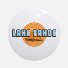 Lakeep Tahoe. Round Ornament