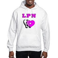 LPN Nurses Care Jumper Hoody