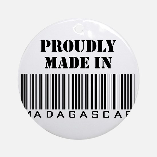 Made in Malagasy Ornament (Round)