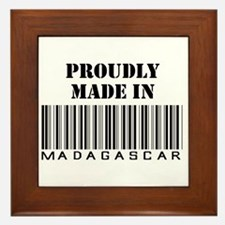 Made in Malagasy Framed Tile