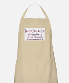 Happiness Is: BBQ Apron