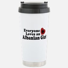 Unique Everyone loves a french girl Travel Mug