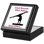 Gymnastics Tile Box - Rewards