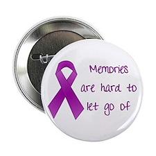 """Alzheimers Awareness 2.25"""" Button"""