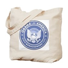 Cute Barack obama 2008 Tote Bag