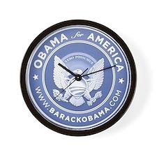 Unique Obama political Wall Clock