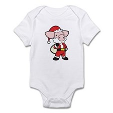Santa Pig Infant Bodysuit