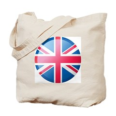 UK BUTTON Tote Bag
