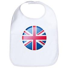 UK BUTTON Bib